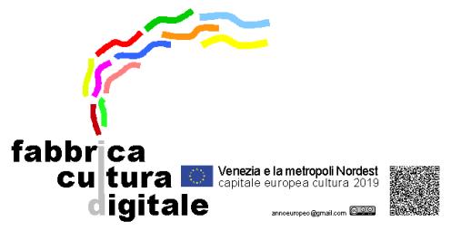 fabbrica cultura digitale immagine con QR CODE x VeneziaCamp