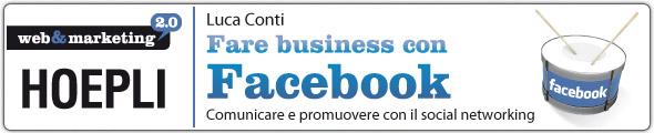 luca conti fare business con facebook studio vittorio baroni