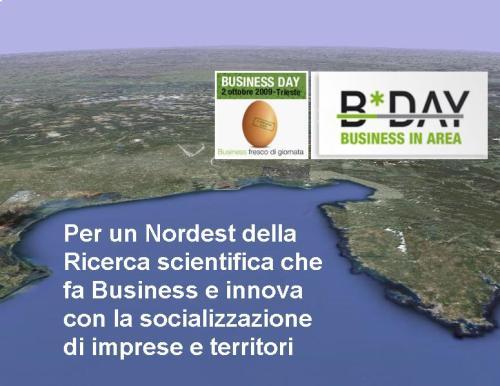 Studio Vittorio Baroni per un Nordest della Ricerca Business in Area 2 ottobre Trieste