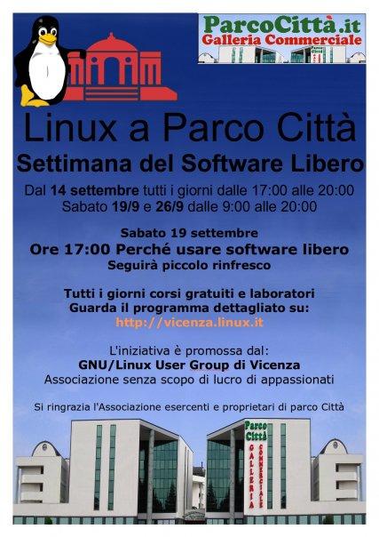 Vicenza open linux Studio Vittorio Baroni