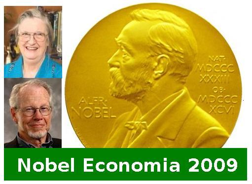 Nobel Economia 2009 premiati Ostrom e Williamson Studio Baroni