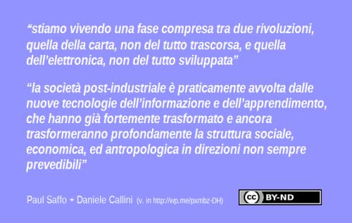 Paul Saffo e Daniele Callini in Studio Baroni png