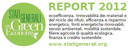 REPORT 2012 Stati Generali della Green Economy in studio baroni