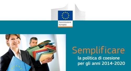 semplificare la politica di coesione 2014 - 2020 UE