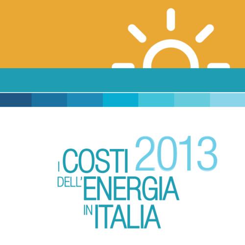 energia italia costi 2013