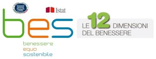 BES 2013 Benessere Equo e Sostenibile CNEL ISTAT 12 dimensioni logo