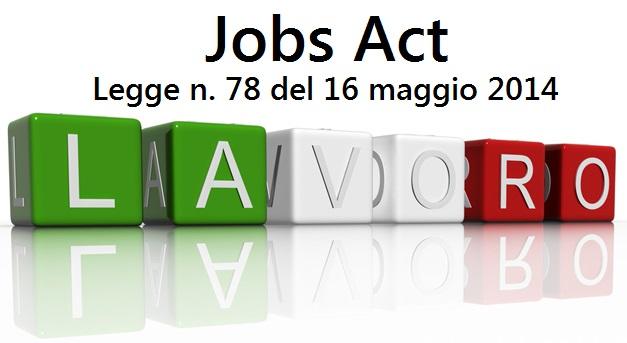 immagine Jobs Act Legge sul Lavoro n. 78 del 16 maggio 2014 studio baroni