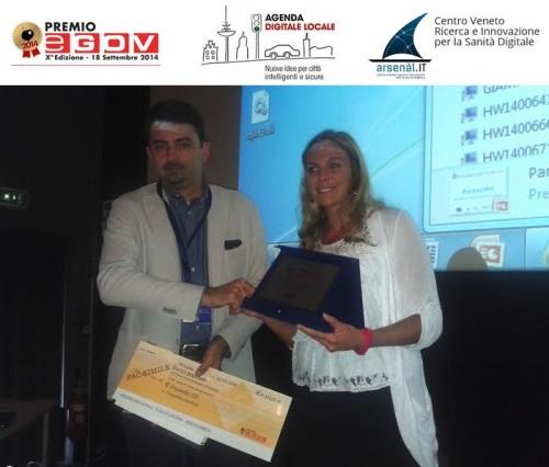 ing. Sara Valongo  Arsenàl.IT - premio eGov 2014 - semplificare Pubblica Amministrazione Regione Veneto premio