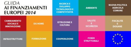 Guida ai finanziamenti europei 2014 ricerca sviluppo tecnologico ambiente agricoltura fiscalità dogane innovazine infrastrutture formazione dg home cooperazione salute sicurezza fiscalità dogane istruzione cultura competitività