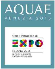 AQUAE Venezia 2015 Patrocinio EXPO Milano nutrire il pianeta - eambiente - ISO26000 studio baroni