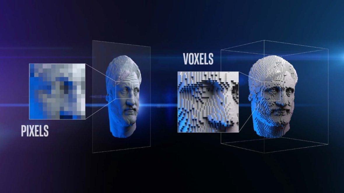 rivoluzione digitale - PIXEL VS VOXEL Intel, Brian Krzanich 2018 - studio baroni.jpg