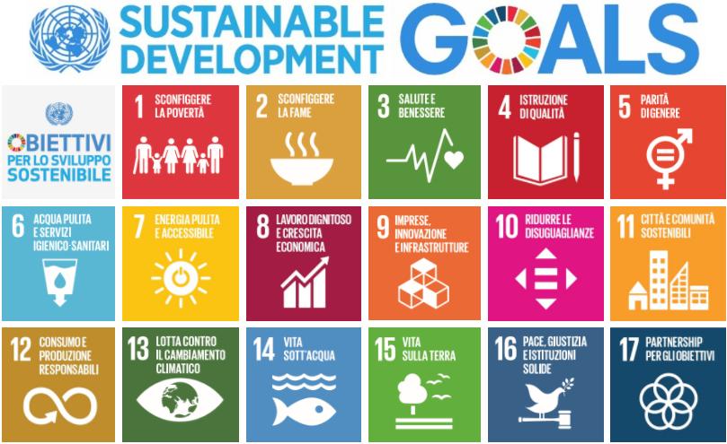 studio baroni vittorio - 17 obiettivi per lo sviluppo sostenibile agenda 2030 - goals sustainable development