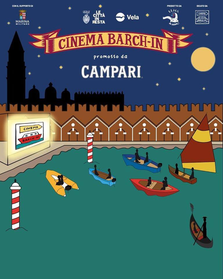 Arsenale di Venezia barch-in drive-in in barca PROGRAMMA luglio agosto 2020 Associazione FEMS du cinéma